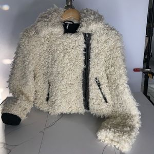 Free People Sherpa coat